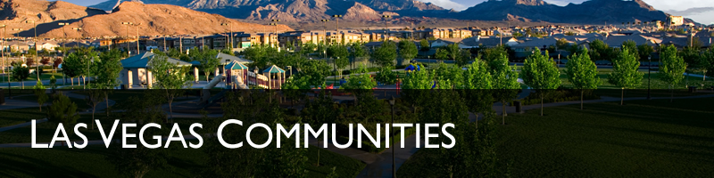 Las Vegas Real Estate Community Information - Lynne Hoffman Real Estate Las Vegas, Nevada